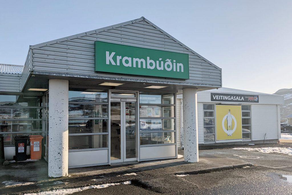 Krambúðin á Hólmavík er matvöruverslun með veitingasölu á Hólmavík